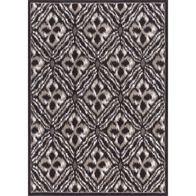 Omprakash Espresso Area Rug Rug Size: Rectangle 53 x 73