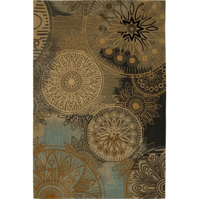 Nikhil Hand-Tufted Area Rug Rug Size: Rectangle 5 x 76