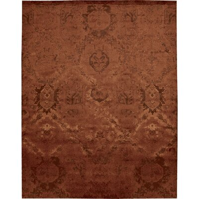Sahana Flame Area Rug Rug Size: Rectangle 99 x 139