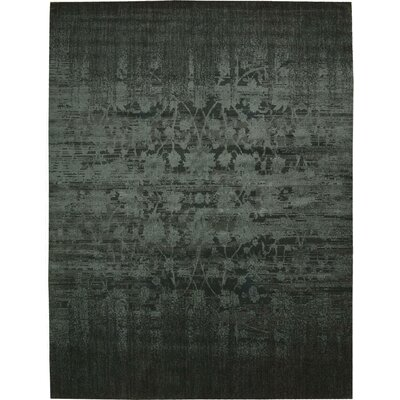 Sahana Hunter Green Area Rug Rug Size: 56 x 8