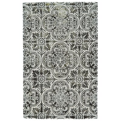 Orenda Hand-Tufted Black Area Rug Rug Size: Rectangle 5 x 8
