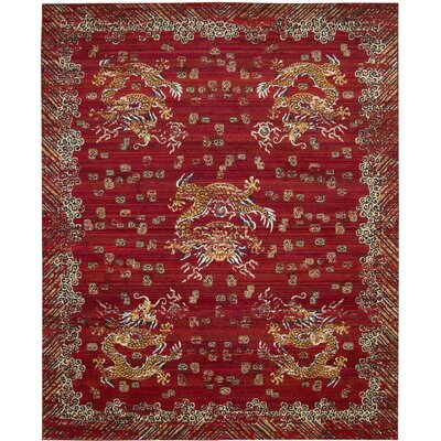 Chosposi Oxblood Area Rug Rug Size: 79 x 99