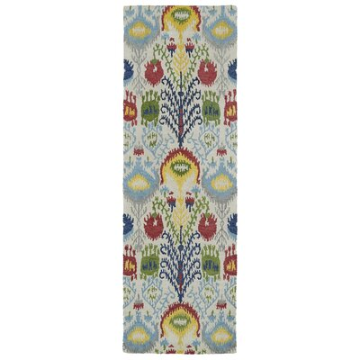 Kasa Hand-Tufted Multi Area Rug Rug Size: Runner 2'6