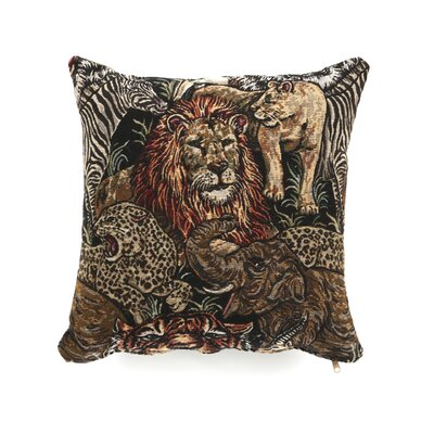 Montgomery Throw Pillow Color: Congo