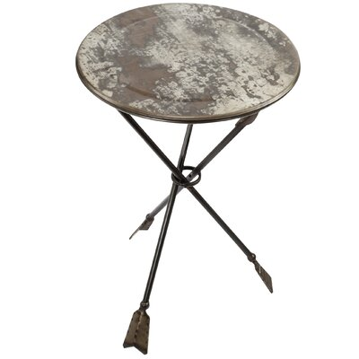 Salamone Side table Table Size: 23.8 L x 16 W
