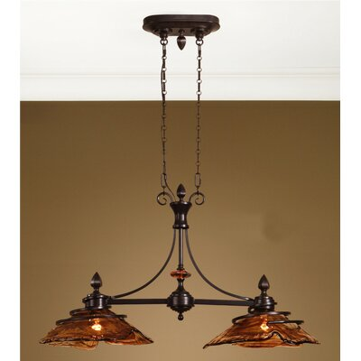Soukaina Kitchen Island Pendant in Oil Rubbed Bronze