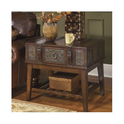 Andalusia End Table With Storage