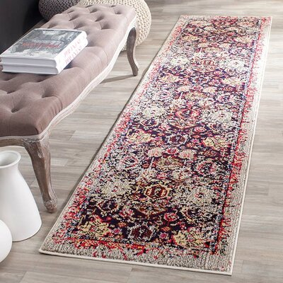 Solum Grey/Multi Area Rug Rug Size: Square 5