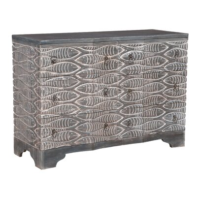 Enrico 6 Drawer Double Dresser