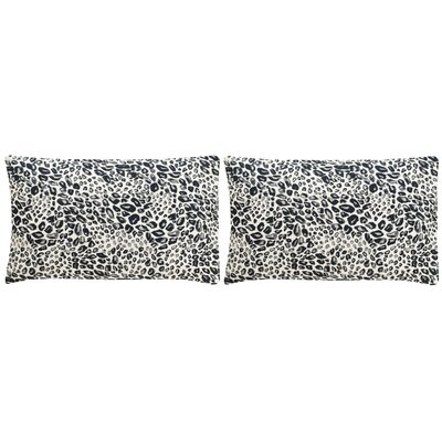 Maimouna Leopard Throw Pillow Color: Midnight