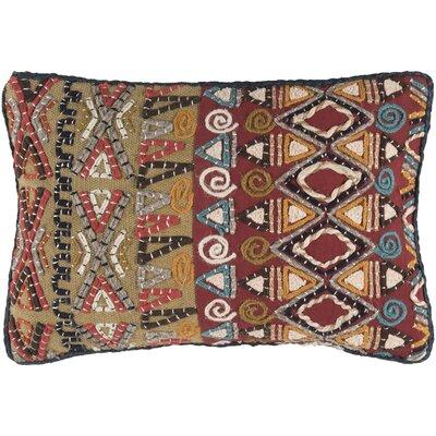 Nyah Lumbar Pillow Size: 13 H x 19 W x 4 D, Fill Material: Down