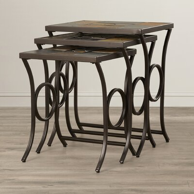 Zamudio 3 Piece Nesting Tables