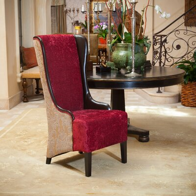 Brisa High Back Fabric Arm Chair