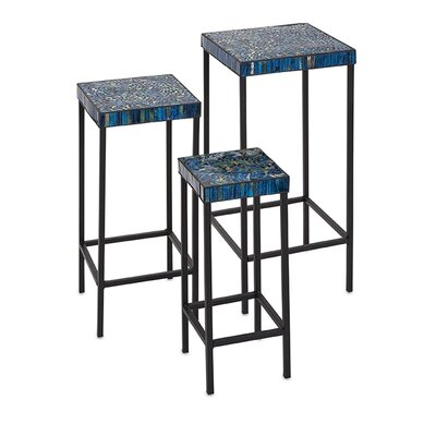 Arvizu 3 Piece Mosaic End Table Set