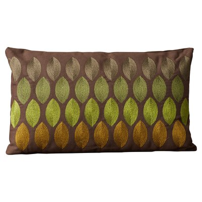 Ulibarri 100% Cotton Lumbar Pillow Color: Green