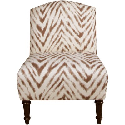Springdale Camel Back Slipper Chair Upholstery: Amir Harissa, Nailhead Detail: No Trim