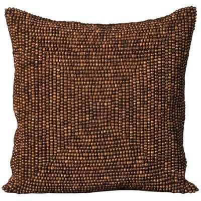 Sieben Throw Pillow Size: 16 H x 16 W x 0.5 D, Color: Brown
