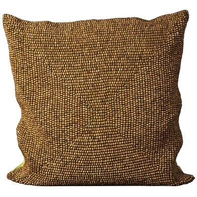 Sieben Throw Pillow Size: 24 H x 24 W x 0.5 D, Color: Green