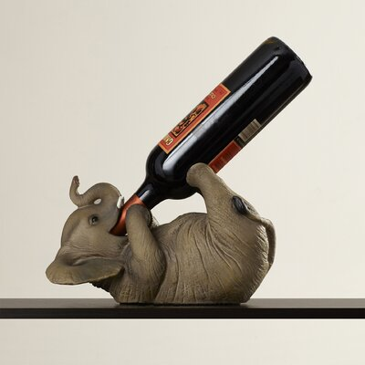 Zelaya 1 Bottle Tabletop Wine Rack