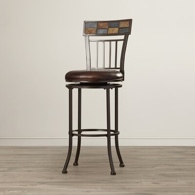 Madhavan 30 Swivel Bar Stool