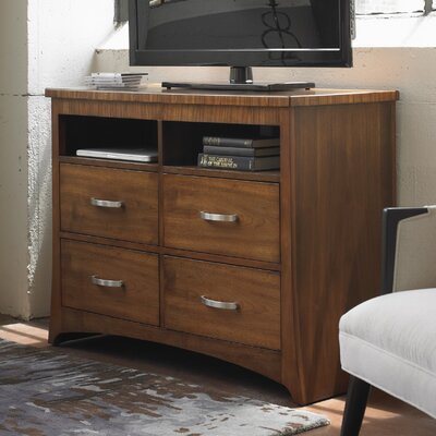 Andover 4 Drawer Media Chest