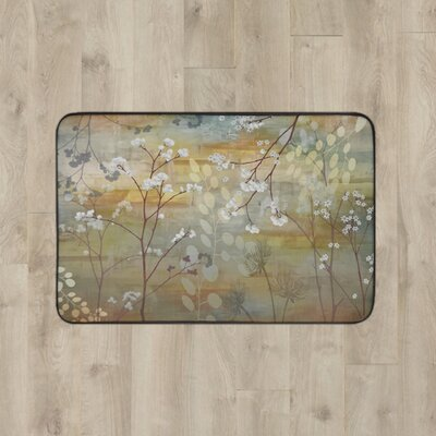 Joshi Flowers and Trees Kitchen Mat