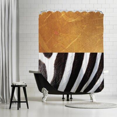 Kabir Zebra Shower Curtain
