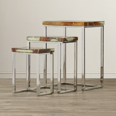 Pene 3 Piece Nesting Tables