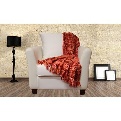 Lahr Oversized Throw Blanket Color: Fruit Punch