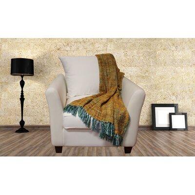 Lahr Oversized Throw Blanket Color: Aqua Sorbet