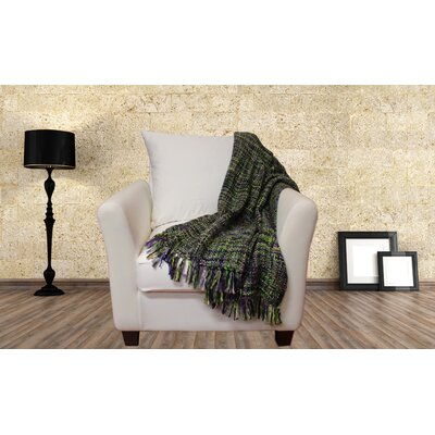 Lahr Oversized Throw Blanket Color: Lavender Sage