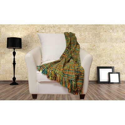 Lahr Oversized Throw Blanket Color: Confetti