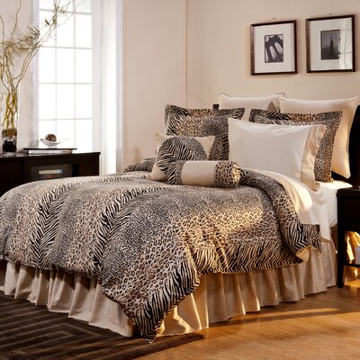 Annisville 12 Piece Reversible Comforter Set Size: California King