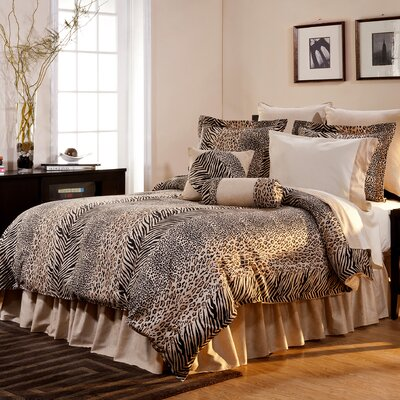 Duromax 8 Piece Reversible Comforter Set Size: California King