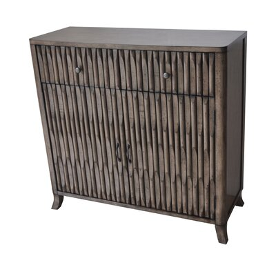 Alderson Ribbed 2 Door / 2 Drawer Cabinet WDMG2995 30399871