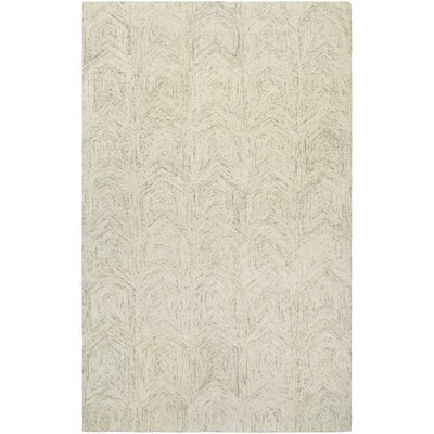 Amsterdam Hand-Woven Ivory Area Rug Rug Size: Runner 22 x 79