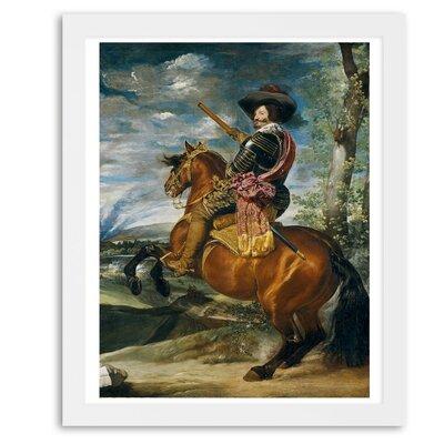 'Count Duke of Olivares' Framed Painting Print Size: 20