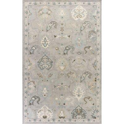 Vann Hand-Tufted Light Gray Area Rug Rug Size: 33 x 53