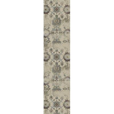 Latta Ivory Area Rug Rug Size: Runner 22 x 711