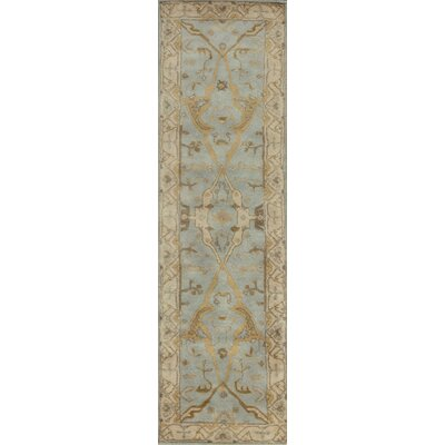 Rania Hand-Tufted Light Blue Area Rug Rug Size: Runner 23 x 8