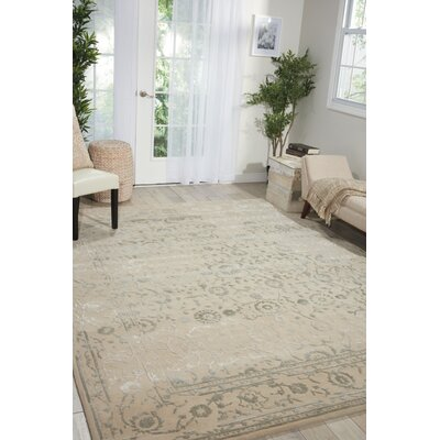 Hadley Hand-Tufted Beige Area Rug Rug Size: Runner 23 x 8