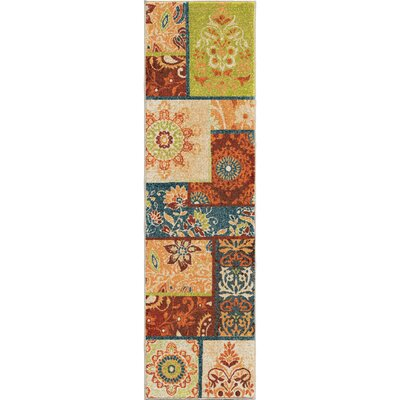 Santino Area Rug Rug Size: Runner 23 x 8