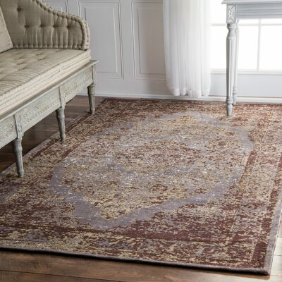 Dokkum Taupe Area Rug Rug Size: Rectangle 6 x 9