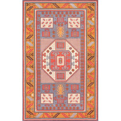 Doukala Multi-Colored Area Rug Rug Size: 7'6