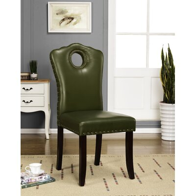 Aline Parsons Chair Color: Hunter Green