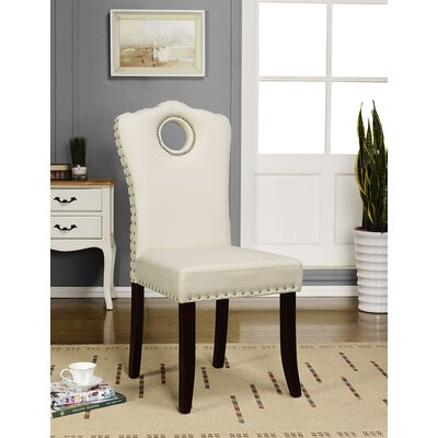 Antwan Side Chair Color: Cream