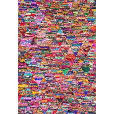 Dezra Hand-Tufted Area Rug Rug Size: 5 x 8