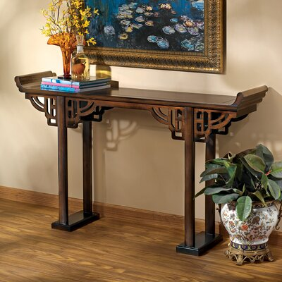 32.5 Kale Solid Wood Console Table