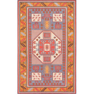 Doukala Multi-Colored Area Rug Rug Size: 5 x 8