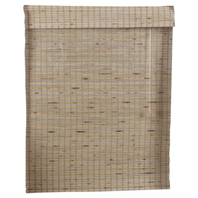 Tan Bamboo Roman Shade